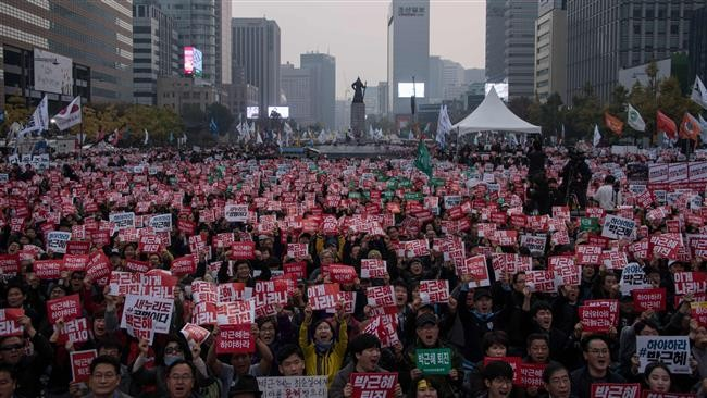 South Korean government calls on demonstrators to respect law - ảnh 1