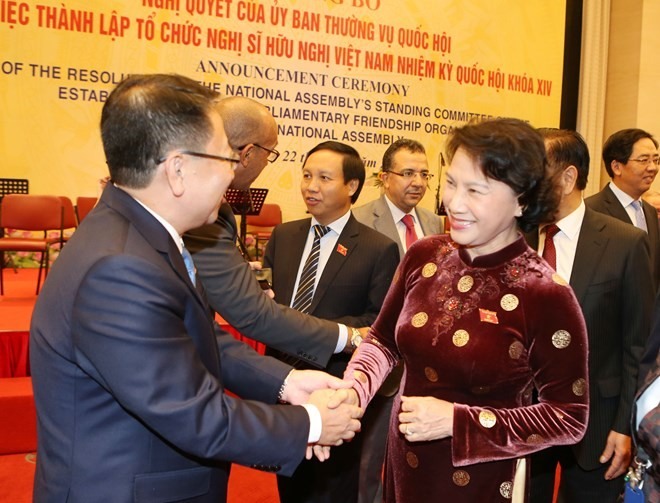 14th NA's Vietnam parliamentary friendship organization set up - ảnh 1