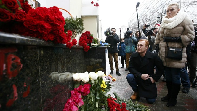 Russia holds national day of mourning for plane crash victims - ảnh 1