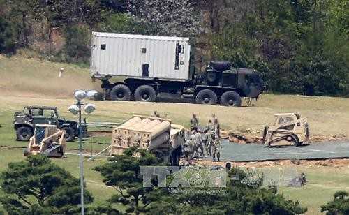 China to carry out drills, weapons tests in response to THAAD deployment - ảnh 1