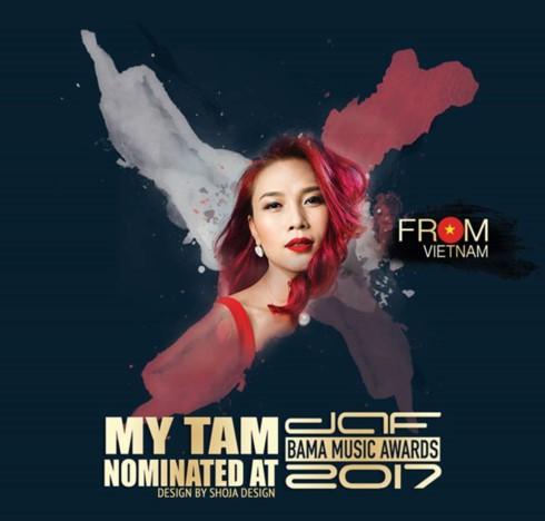 Singer My Tam nominated at Big Apple Music Awards 2017 - ảnh 1
