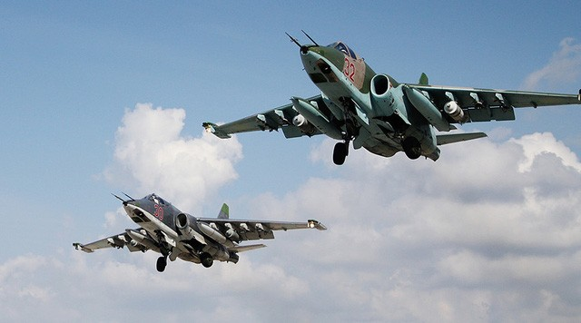 Russia, Syria intensify attacks on insurgents in Syria - ảnh 1