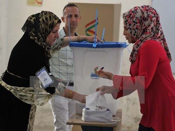 Voting begins in controversial Kurdish referendum - ảnh 1