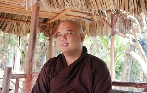 Venerable Thich Le Hieu, a kind-hearted monk - ảnh 1