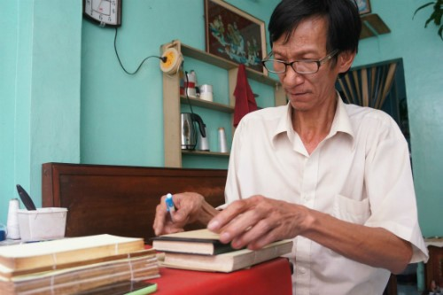 The last bookbinder in Ho Chi Minh City - ảnh 1