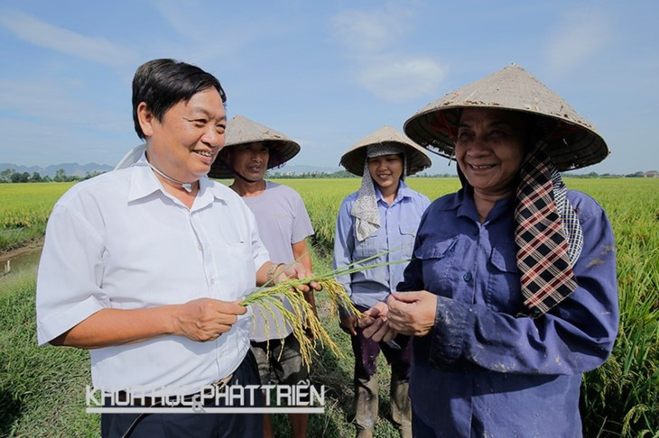 Professor Tran Duy Quy honored for contribution to agriculture - ảnh 1