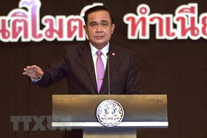 Thai PM gets high approval ratings  - ảnh 1