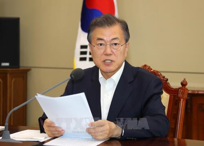 South Korean President leaves for US - ảnh 1