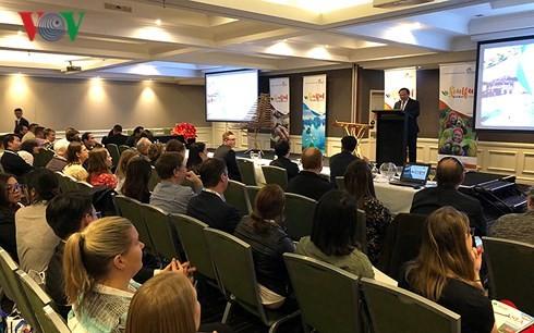 Vietnamese tourism shines in Australia, New Zealand - ảnh 1