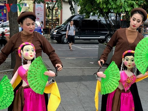 First puppetry festival gets underway in HCM City - ảnh 1