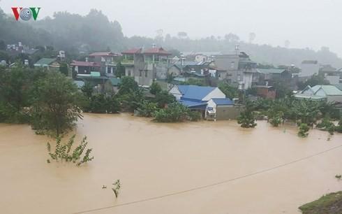 Northern provinces recover from floods, landslides - ảnh 1
