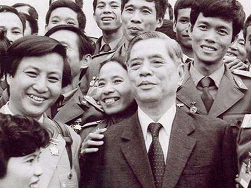 Party leader Nguyen Van Linh, initiator of Vietnam's renewal - ảnh 2