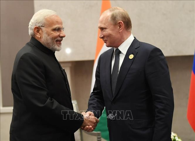 Russian President visits in India - ảnh 1
