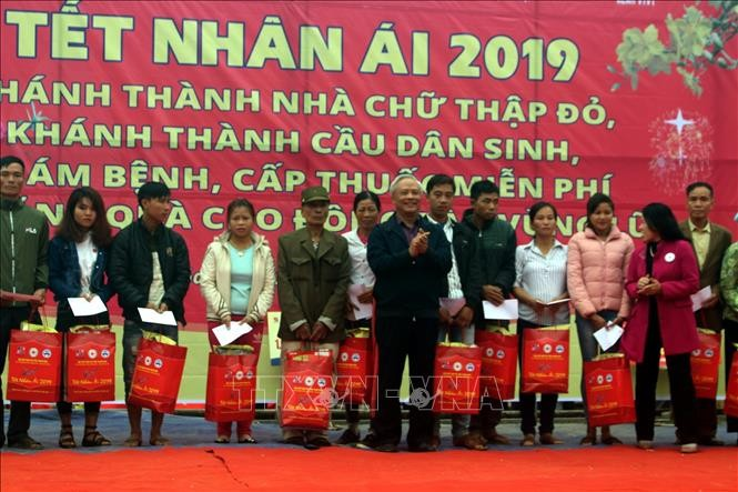 """Sharing love"" New Year program held in Thanh Hoa province - ảnh 1"