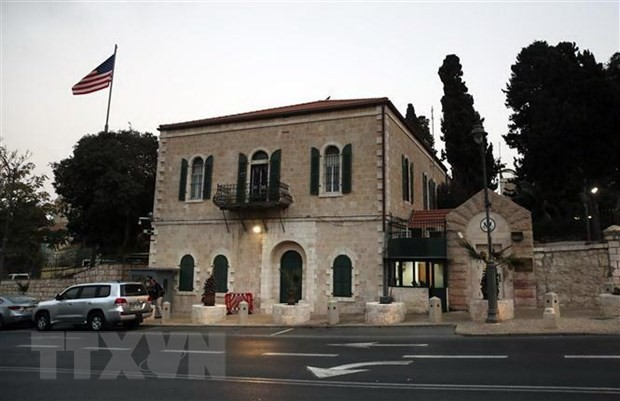 US Consulate in Jerusalem prepares to merge with embassy - ảnh 1