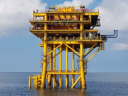 Vietnam-Russia joint venture welcomes first oil flow from Ca Tam field - ảnh 1