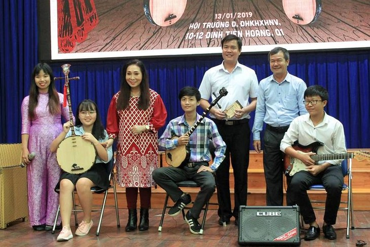 Project promotes traditional art genre - ảnh 2
