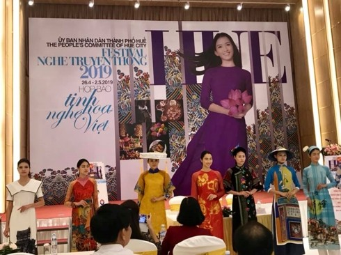 Hue Traditional Craft Festival 2019 to promote artisans' talent - ảnh 1