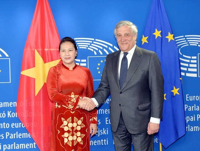 Vietnam, EU push up ratification of bilateral free trade pact - ảnh 1