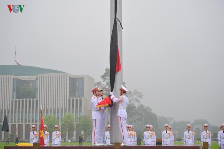 Nation mourns former President Le Duc Anh - ảnh 1