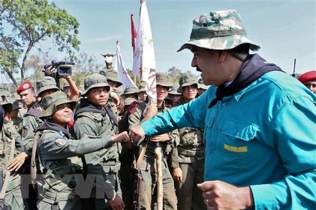 Venezuelan President: Peace talks with opposition have good beginning - ảnh 1