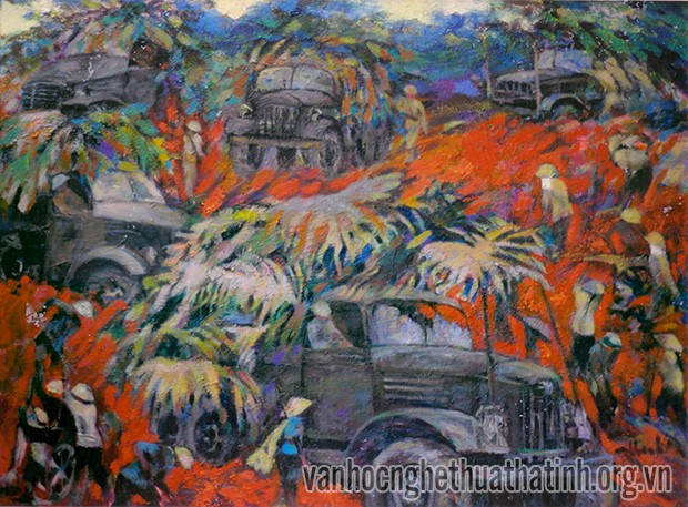 Revolutionary painter Tran Tu Thanh  - ảnh 2