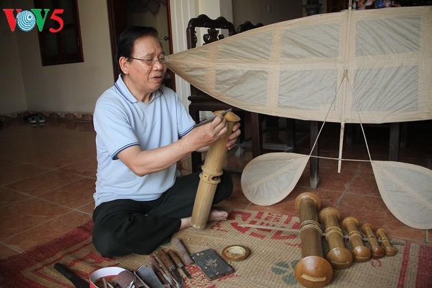 Celebrated artisan promotes Vietnamese kites to the world - ảnh 1