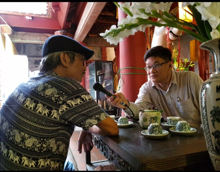 Veteran artisan preserves royal decree making - ảnh 2