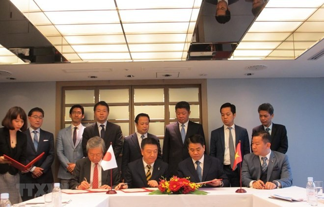 Japanese firms plan to pour 4 billion USD in Hanoi projects - ảnh 1
