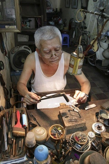 Traditional crafts of Hanoi's Old Quarter - ảnh 1