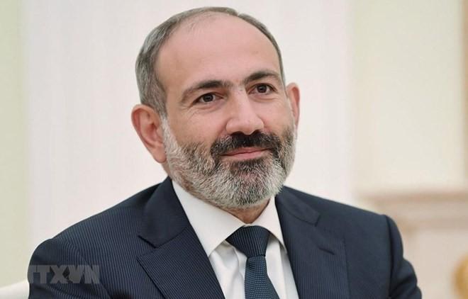 Armenian PM begins official visit to Vietnam - ảnh 1