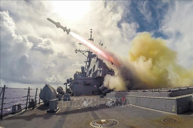 South Korea says no discussion on US mid-range missile deployment - ảnh 1