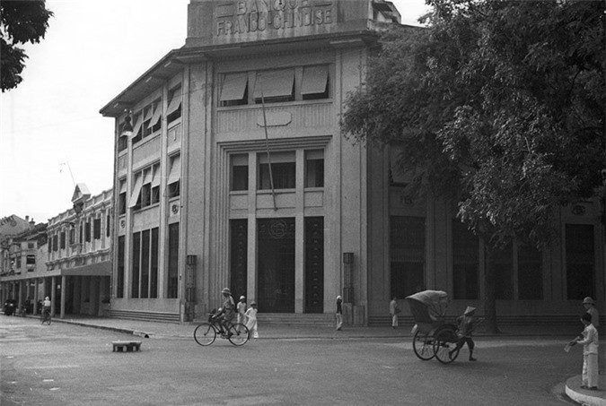 Loạt ảnh choáng ngợp về khu phố sang nhất Hà Nội năm 1940 - ảnh 2