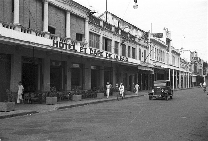 Loạt ảnh choáng ngợp về khu phố sang nhất Hà Nội năm 1940 - ảnh 5