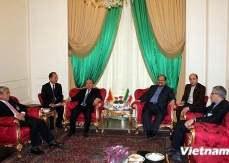 Phó Thủ tướng Nguyễn Xuân Phúc thăm chính thức Iran - ảnh 1