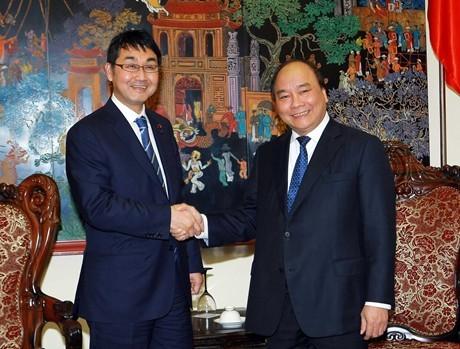 Phó Thủ tướng Nguyễn Xuân Phúc tiếp nguyên Chủ tịch Ủy ban Đối ngoại Hạ viện Nhật Bản - ảnh 1