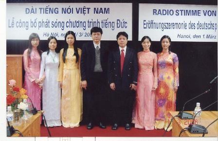 Chương trình Phát thanh tiếng Đức: nhịp cầu hữu nghị Việt Nam-Đức - ảnh 3