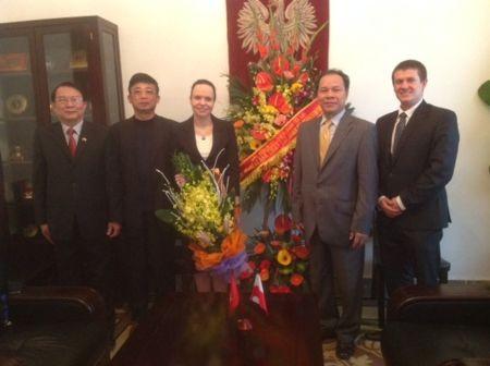 Kỷ niệm 65 năm thiết lập quan hệ ngoại giao Việt Nam – Ba Lan  - ảnh 1