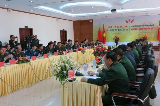 Tiếp tục hoạt động giao lưu hữu nghị Quốc phòng biên giới Việt Nam – Trung Quốc lần thứ 2 - ảnh 1