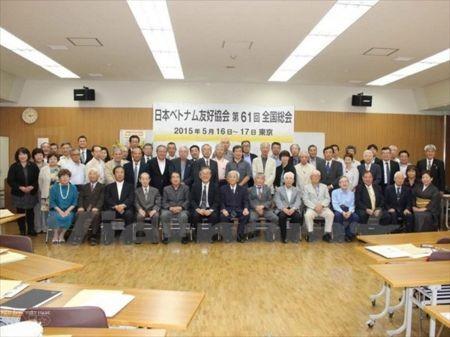 Hội Hữu nghị Nhật Bản-Việt Nam góp phần vun đắp quan hệ hai nước  - ảnh 1