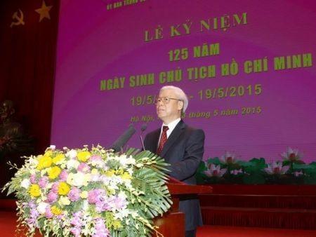 Lễ kỷ niệm 125 năm Ngày sinh Chủ tịch Hồ Chí Minh (19/05/1890-19/05/2015) - ảnh 1