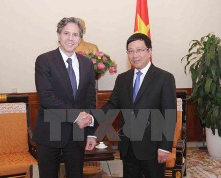 Thứ trưởng thứ Nhất Bộ Ngoại giao Hoa Kỳ Antony Blinken làm việc tại Việt Nam - ảnh 1