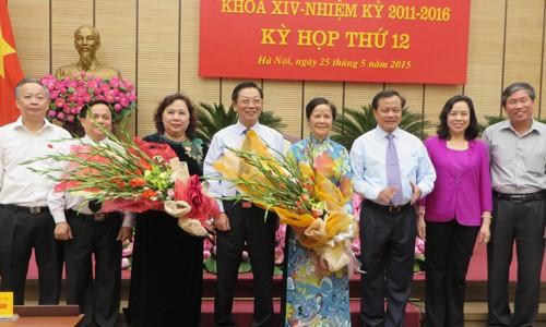 Hà Nội bầu chức danh Chủ tịch Hội đồng nhân dân thành phố - ảnh 1
