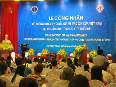 Hệ thống quản lý quốc gia về vắc xin của Việt Nam được công nhận đạt chuẩn của Tổ chức Y tế thế giới - ảnh 1