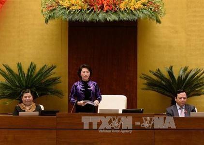 Quốc hội thảo luận phiên cuối cùng về tình hình kinh tế - xã hội   - ảnh 1