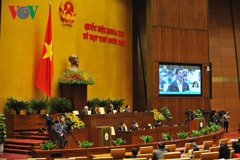 Quốc hội tiếp tục tiến hành quy trình kiện toàn chức danh lãnh đạo Nhà nước - ảnh 1