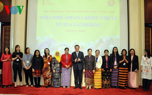 Giao lưu Nhóm phụ nữ ASEAN tại Trung Quốc - ảnh 1