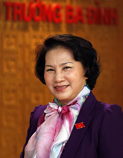 Lãnh đạo các nước chúc mừng Chủ tịch Quốc hội Nguyễn Thị Kim Ngân - ảnh 1