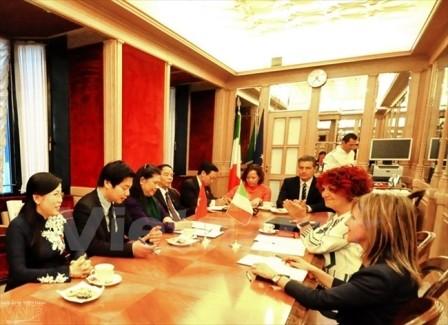 Việt Nam - Italy tăng cường hợp tác Nghị viện hướng tới tương lai  - ảnh 1