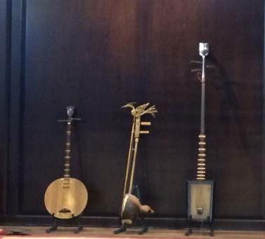 Triển lãm nhạc cụ dân tộc cổ truyền tại phố cổ Hà Nội  - ảnh 1